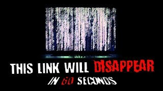 """This Link Will Disappear in 60 Seconds"" 