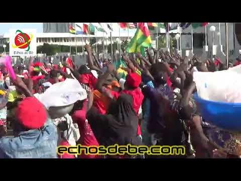 Le siège de la BIDC (CEDEAO) de Lomé a été envahi par les manifestants ce jeudi .