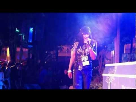 DJ Kool performing
