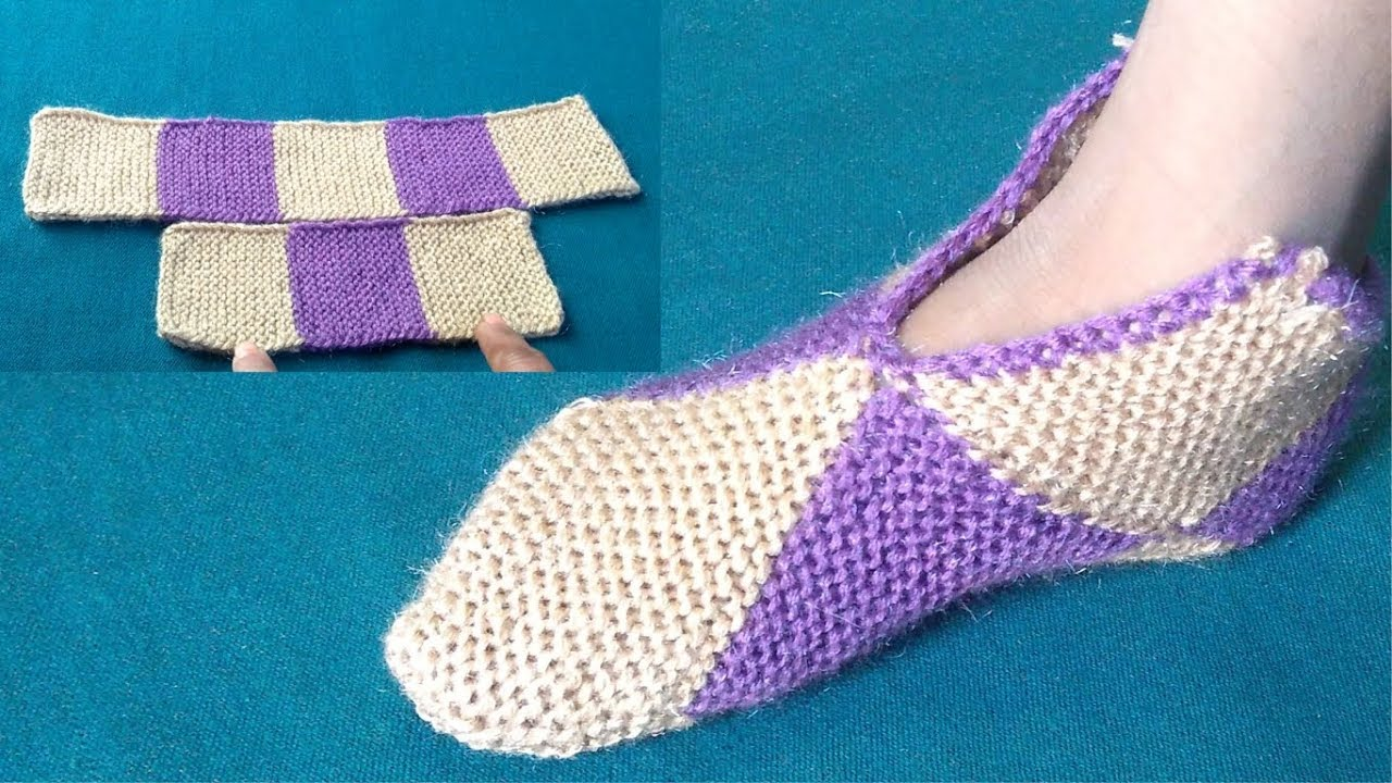 New Easy Socksjurab Knitting Pattern Youtube