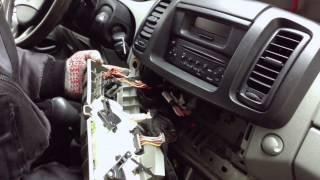 Замена Лампочек Подсветки Панели Регуляторов Отопителя Renault Trafic | Replacement Bulbs For Cars