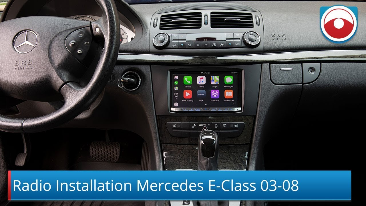 Mercedes Benz EClass 20032008 W211 Radio Installation  YouTube