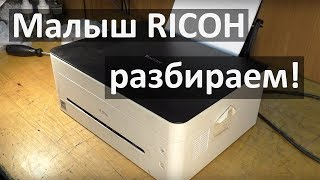 Ricoh SP C261SFNw Color All In One Laser Printer First Use