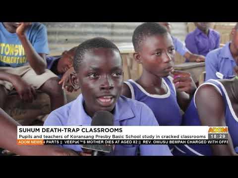 Suhum  d3at-trap classroom - Adom TV News (17-9-21)
