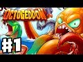 Octogeddon - Gameplay Walkthrough Part 1 - New Game from Plants vs. Zombies Creators! (PC)