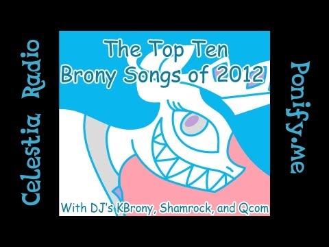 Celestia Radio's Top Ten Songs of 2012