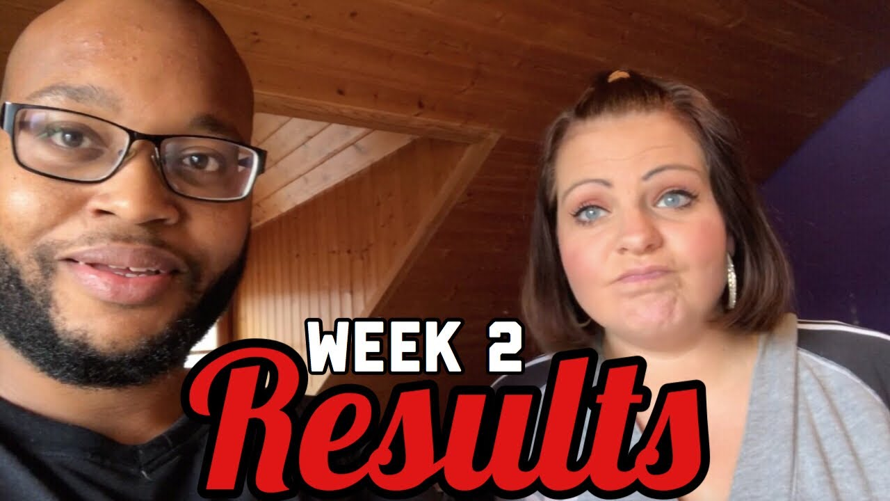 week 2 results of our couple s weight loss journey youtube