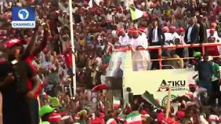 apc presidential campaign rally in Rivers State