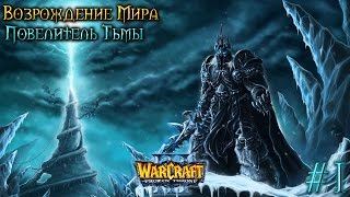 Warcraft 3 Возрождение Мира прохождение. Повелитель тьмы [#1]