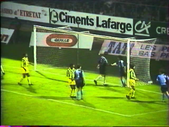Résumé Le Havre - FC Nantes 1994-95