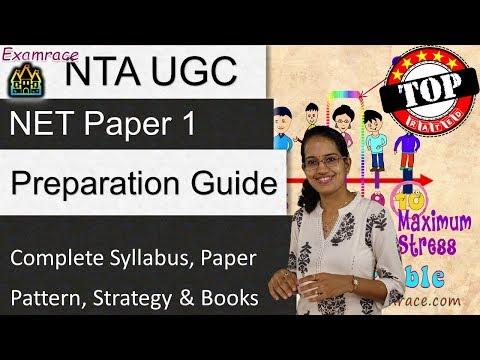 NTA UGC NET Paper 1- Complete Syllabus, Paper Pattern, Strategy & Books (Dr. Manishika)