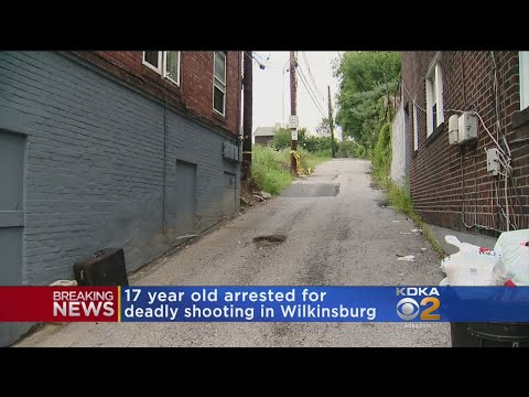 Police Arrest Suspect In Fatal Shooting Of 15-Year-Old In Wilkinsburg