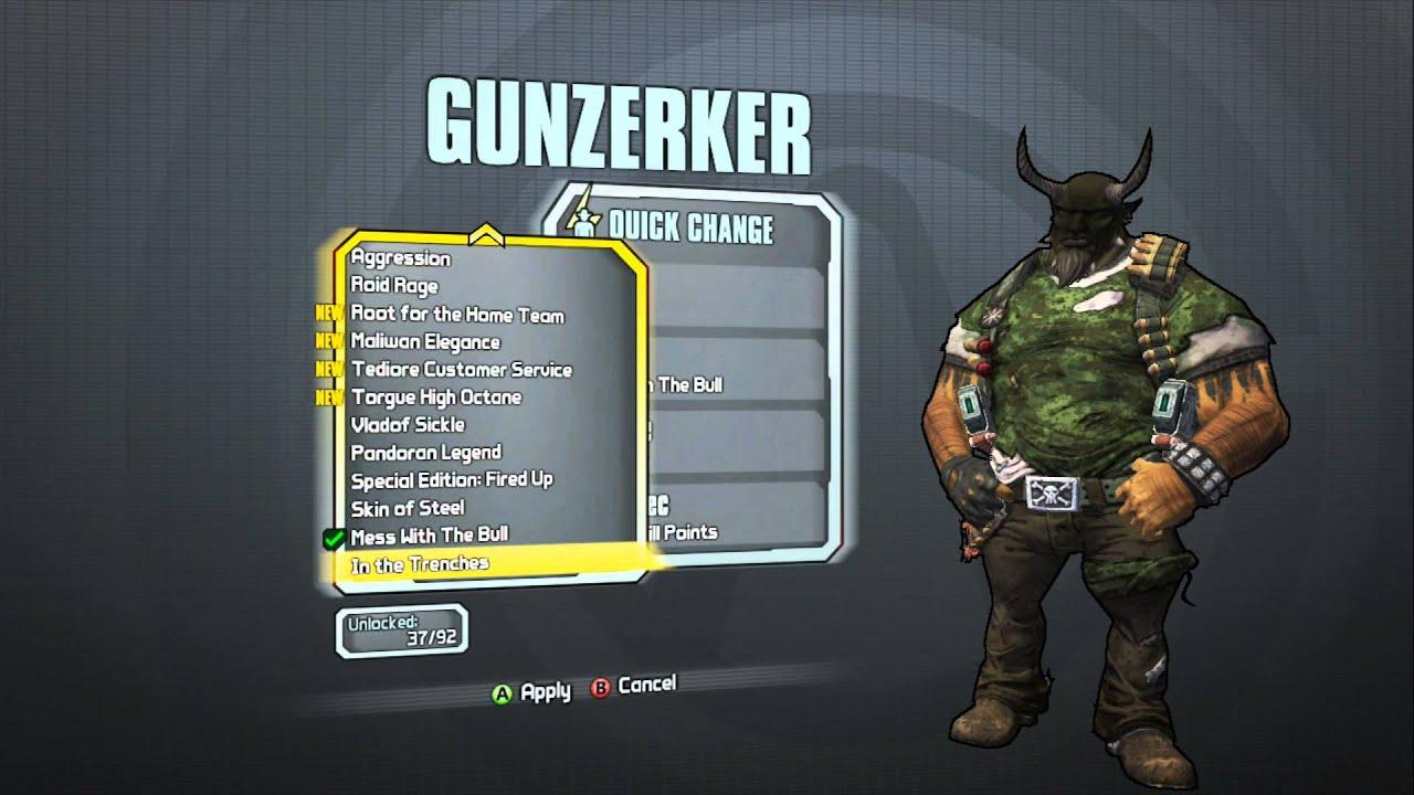 Borderlands 2 - Gunzerker Madness Pack (El Diablo Head and ... Borderlands 2 Max Backpack