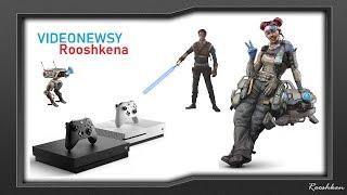 Przeceny gier Xbox One, Sezon 2 Apex Legends przecieki! Videonewsy Rooshkena