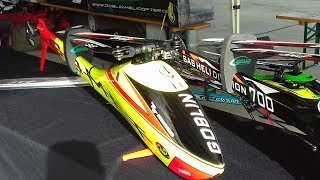 DEREK TEO FLY THE NEW SAB GOBLIN COMET SPEED RC MODEL HELICOPTER