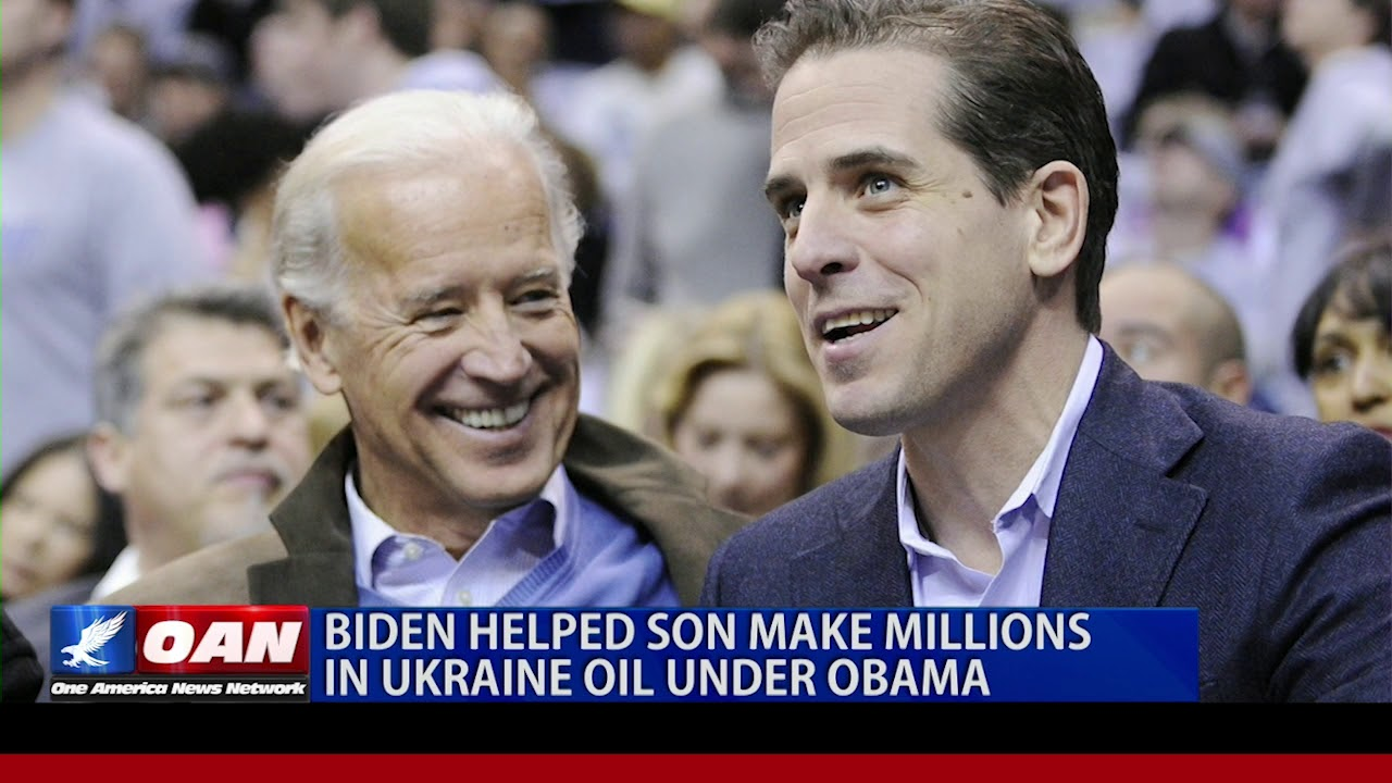 OAN - Biden helped son make millions in Ukraine oil under Obama