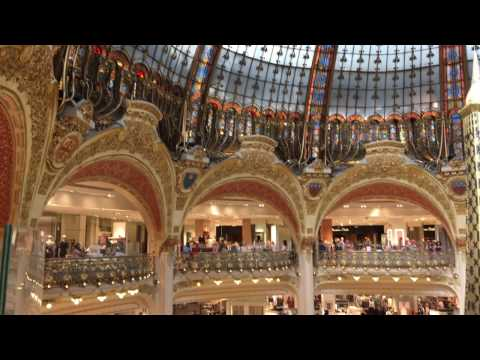 Galeries Lafayette Haussmann Quick Tour | Paris, France in 4K