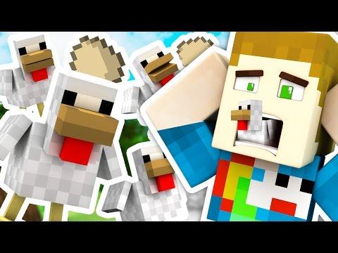 THERE ARE CHICKENS.. EVERYWHERE.. - Troll Craft - Видео из Майнкрафт (Minecraft)
