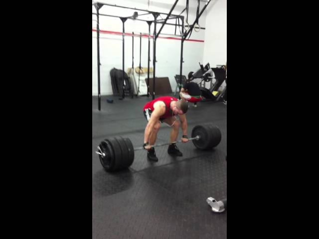 New dead lift personal record! 405 lbs.