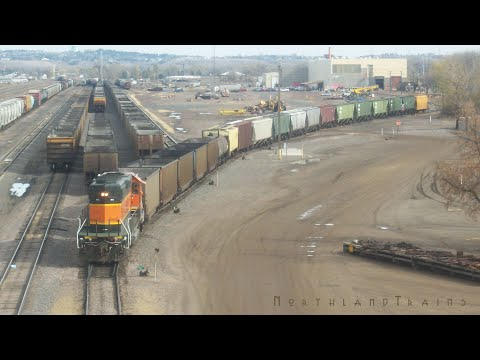 BNSF Freight Yard Operations
