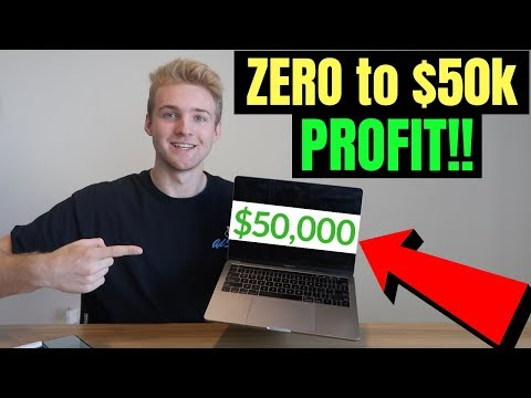 Zero to $50,000/Month In ONLY 6 MONTHS On Shopify (Beginner Tutorial)