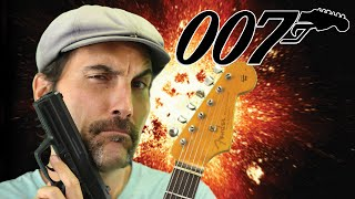 James Bond - 007 - Theme Song - Guitar Lesson - Tutorial - EASY