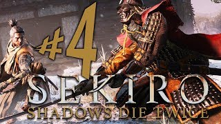 Sekiro Shadows Die Twice - Parte 4: Desventuras no Castelo Ashina!!! [ PS4 Pro - Playthrough ]