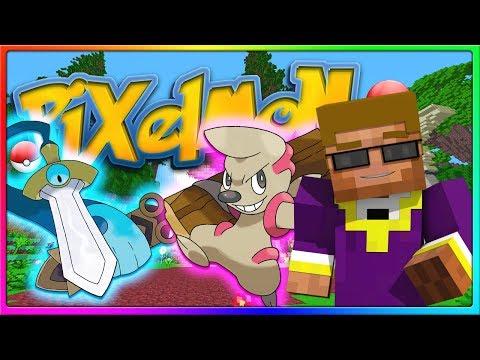 Crew Pixelmon - THROWING TONS OF SHADE!   Episode 11, Season 2 (Minecraft Pokemon Mod)