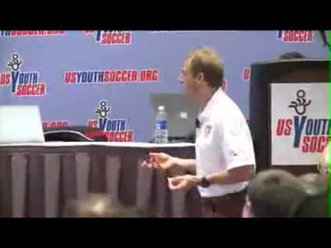 Jurgen Klinsmann at the 2012 US Youth Soccer Workshop