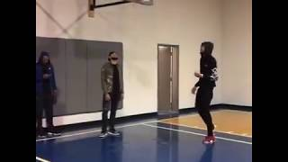 LONZO BALL vs BOW WOW SHAD MOSS 3 POINT CONTEST