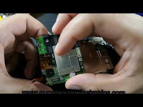 How to disassemble Verizon Motorola Droid Pro XT610
