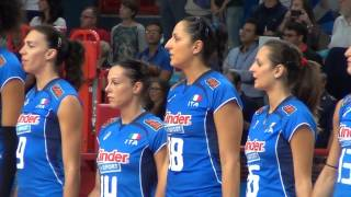 01-10-2014: L'inno nazionale italiano nel calore di Bari