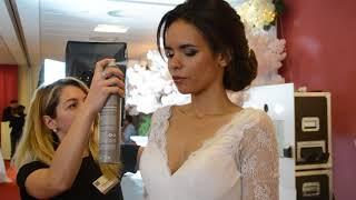Salon du mariage - Préparation des modèles par D&Z Agency