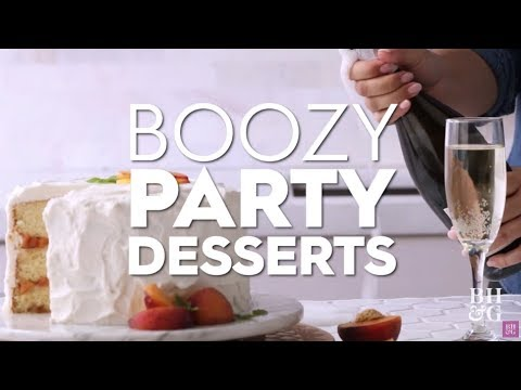 Boozy Party Desserts | Better Homes & Gardens