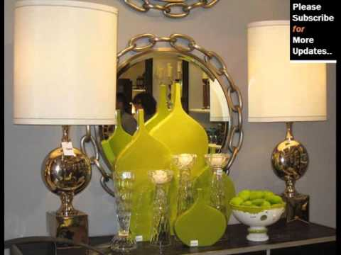 Green Home Decor - Green Decorative Home Decoration Collection