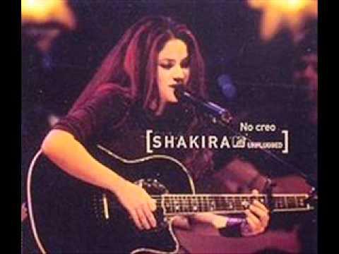 Shakira - No Creo MTV Unplugged (single)
