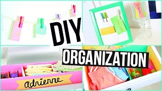 Diy Spring Organization Life Hacks + Room Decor!