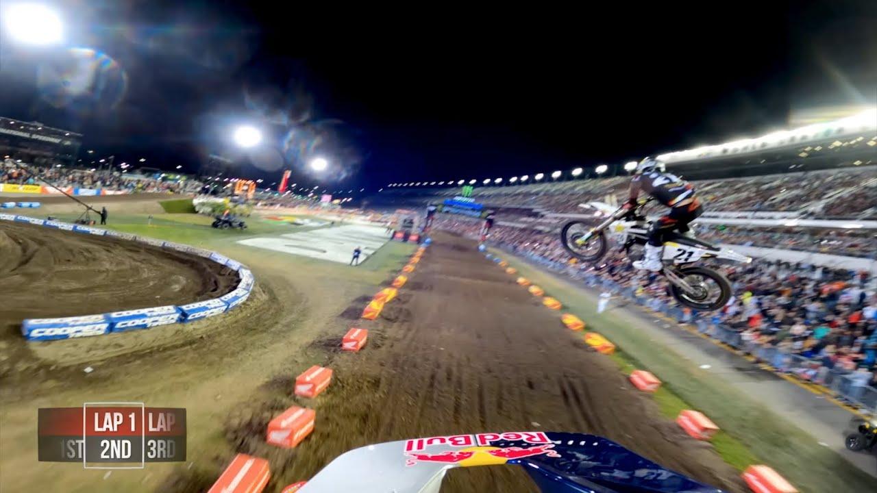 GoPro: Ken Roczen - 2020 Monster Energy Supercross - 450 Main Event Highlights - Daytona - Motor Informed