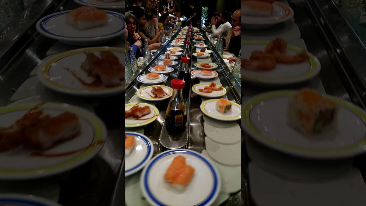Tren Sushi - Buffet Libre - Toyo Restaurante Japonés ...