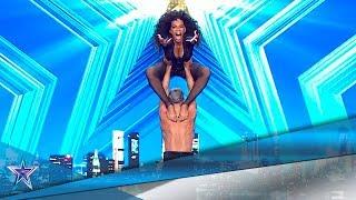 Estos CUBANOS te dejarán BOQUIABIERTOS con su BAILE | Audiciones 10 | Got Talent España 5 (2019)