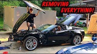 Download Rebuilding A Wrecked 2017 Corvette Z06 Part 4 Mp3 and Videos