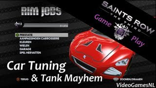 Saints Row: The Third | Car Tuning, Rim Jobs & Tank Mayhem Gameplay [Xbox 360] [HD]