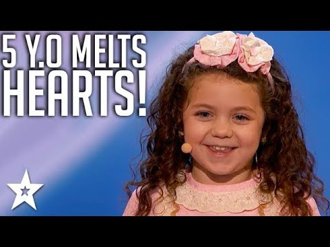 Adorable Kid Singer Wows Judges on America's Got Talent 2018 | Got Talent Global