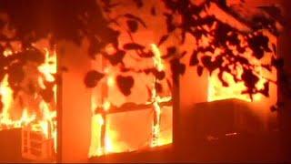 Massive blaze at Delhi's AIIMS spreads further