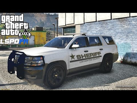 LSPDFR #472 LOS SANTOS COUNTY PATROL!! (GTA 5 REAL LIFE POLICE PC MOD) NEW PACK