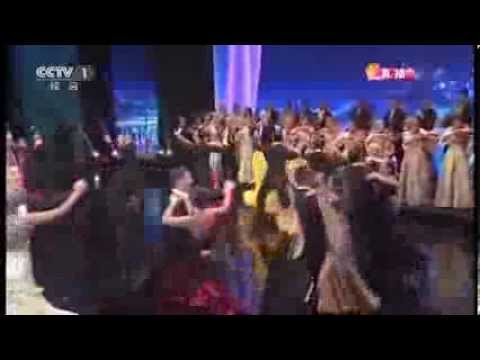 "ССTV 2014 New Year Gala Show ""The Blue Danube"""