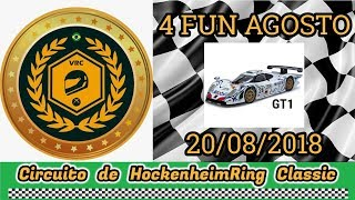 4 FUN AGOSTO 2018 - Categoria GT1 - Grupo VRC
