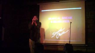 "8-Bit Adam ~ Hawthorne Heights ""Ohio Is For Lovers"" (Karaoke) @ Dubliner, 2-14-11"