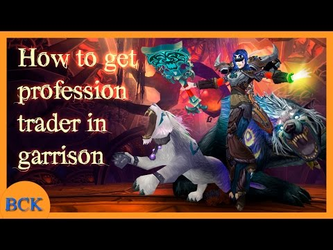 How to use the garrison trader without having it