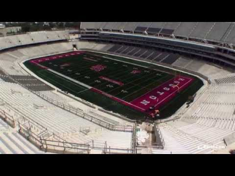 University of Houston TDECU Stadium Time-Lapse
